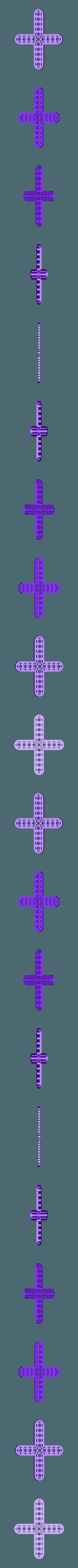 cross_9_11.STL Télécharger fichier STL gratuit MEGA Expansion 200+ Pièces • Plan à imprimer en 3D, Pwentey