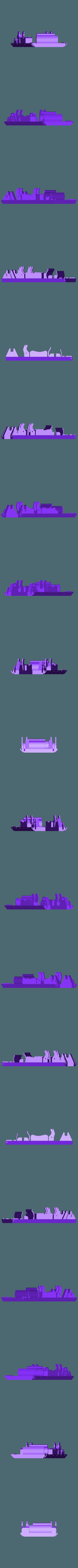 BoatDeckV2.stl Télécharger fichier STL gratuit Bateau à pagaies • Objet à imprimer en 3D, Pwentey