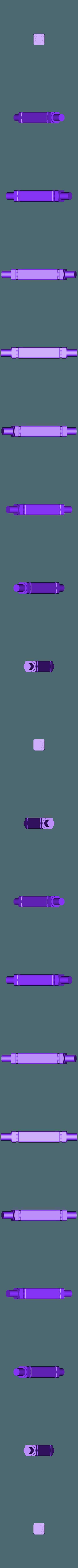 BoatShaftV1.stl Télécharger fichier STL gratuit Bateau à pagaies • Objet à imprimer en 3D, Pwentey