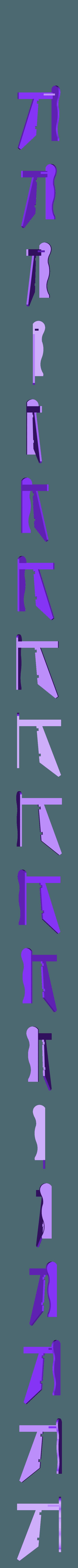 Left_Arm.stl Download free STL file Adirondack Chair • 3D printing design, Lurgmog