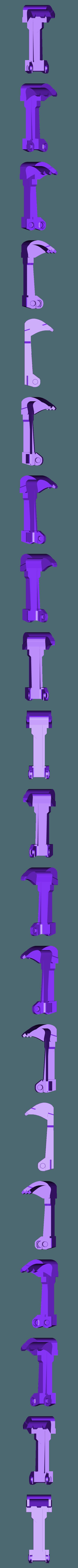 shovel-and-arm-3.stl Télécharger fichier STL gratuit Pelle de remplacement pour pelleteuse (siku 0801) • Objet pour impression 3D, Lurgmog