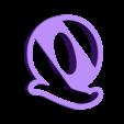 q.stl Download free STL file A-Z alphabet cookie cutter • 3D printer design, BlackSand3DMaker