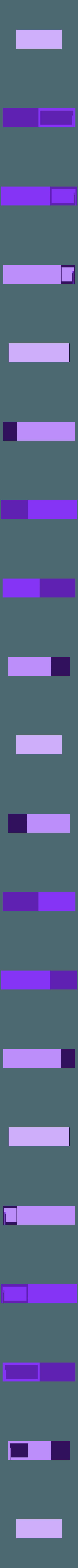 deck-box-60.stl Télécharger fichier STL gratuit Boîte de rangement Yu-Gi-Oh • Design pour impression 3D, plokr