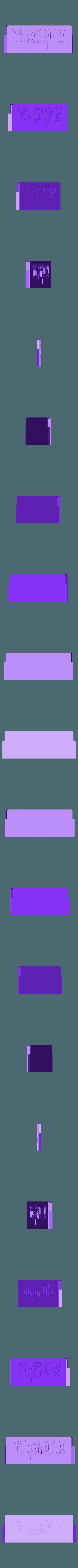 lid-60-logo.stl Télécharger fichier STL gratuit Boîte de rangement Yu-Gi-Oh • Design pour impression 3D, plokr