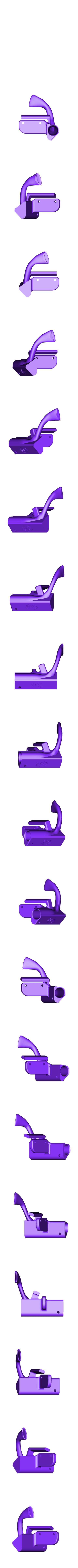 Suction Head final.stl Download free STL file Monoprice Select Printer Suction Head for ZIMPURE • Template to 3D print, MakerGen3D