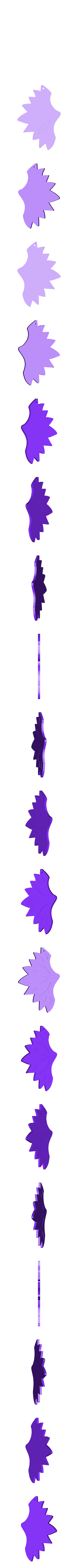 Boucle papillon1 V2 L.stl Download free STL file Butterfly Earrings • 3D print model, SamiJoe