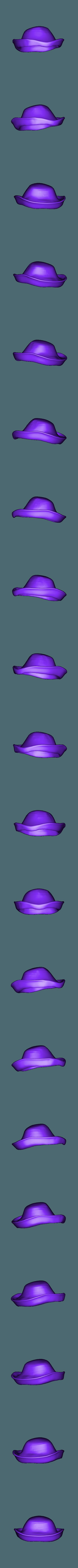 hat.stl Download free STL file Mr. Potato Head [Toy Story] • 3D printer template, Dream_it_Model_it