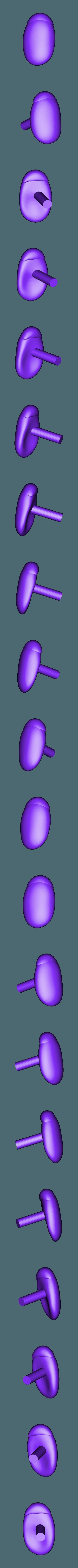 right_eye.stl Download free STL file Mr. Potato Head [Toy Story] • 3D printer template, Dream_it_Model_it
