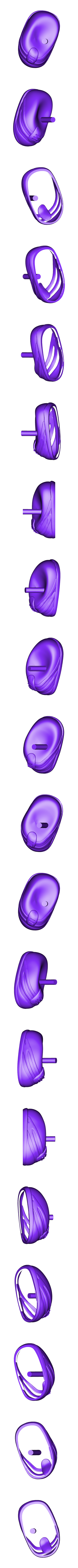 right_shoe.stl Download free STL file Mr. Potato Head [Toy Story] • 3D printer template, Dream_it_Model_it