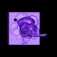 butterfly_on_flower.stl Télécharger fichier STL gratuit Lampe papillon • Objet imprimable en 3D, Pza4Rza