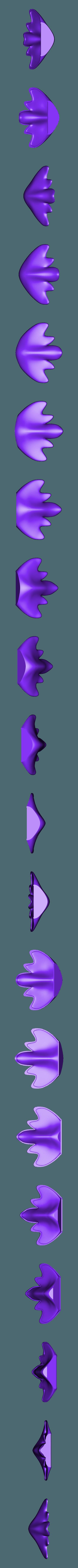 queue.stl Télécharger fichier STL gratuit Applique colombe • Modèle imprimable en 3D, micaldez