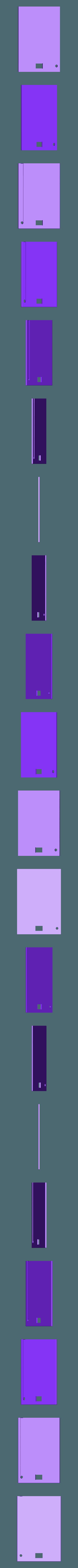 alzado posterior.STL Télécharger fichier STL Boîte à lumière Funko Pop • Plan pour imprimante 3D, SnakeCreations