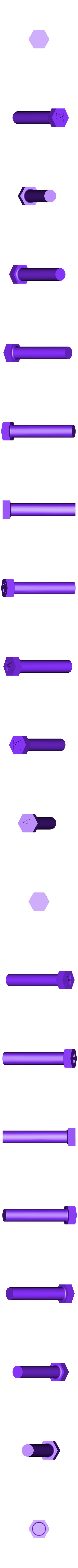 llavero pasador.STL Télécharger fichier STL gratuit Détenteur de la clé • Plan pour impression 3D, SnakeCreations
