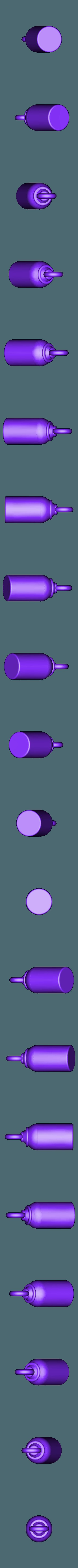 flaoting keyfob v2.stl Télécharger fichier STL gratuit Floating Keyfob • Design pour impression 3D, dvilleneuve