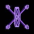 """SPDVL124bottom4.stl Télécharger fichier STL gratuit SPDVL124 - Cadre Micro Quad 2.5"""" Racing / Freestyle 2.5 • Modèle à imprimer en 3D, Gophy"""