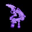 Leg_half_style1_redux_smaller.stl Download free STL file Scuttling Spirit of the Machine God • 3D printer model, FelixTheCrazy