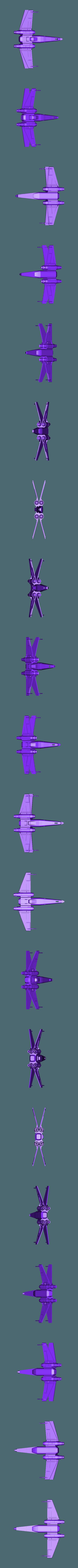 xwing_st_wr.stl Télécharger fichier STL gratuit X-Wing_Star_Wars • Objet à imprimer en 3D, rostchup228
