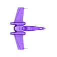 xwing_st_wr.stl Download free STL file X-Wing_Star_Wars • 3D printer template, rostchup228