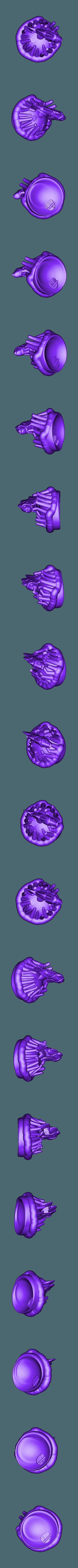 clown_part.stl Télécharger fichier STL gratuit Veilleuse à l'anémone de mer et aux poissons clowns • Design imprimable en 3D, Pza4Rza