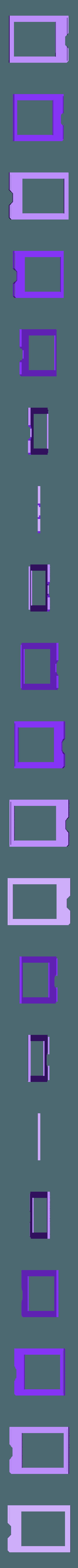 pymic-bezel.stl Download free STL file PyBadge Case with Flip Out Mic (TensorFlow Lite Kit) • Template to 3D print, Adafruit