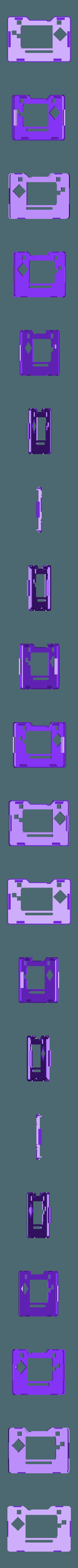 pymic-top.stl Download free STL file PyBadge Case with Flip Out Mic (TensorFlow Lite Kit) • Template to 3D print, Adafruit