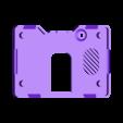pymic-bottom.stl Download free STL file PyBadge Case with Flip Out Mic (TensorFlow Lite Kit) • Template to 3D print, Adafruit