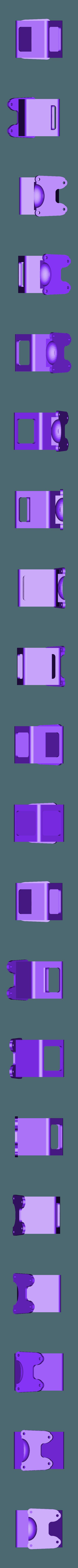 Mark_II_runcam5_mount_25d.stl Télécharger fichier STL gratuit Runcam 5 Case / Mark II 25° montage 25 • Objet imprimable en 3D, Gophy