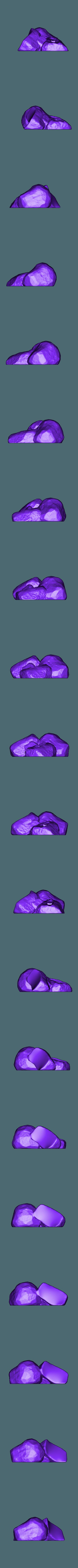 Roca_parte2 PR.OBJ Télécharger fichier OBJ gratuit Ver de terre Jim • Plan pour impression 3D, taiced3d