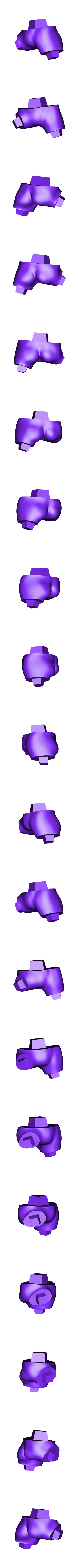 Tanga PR.OBJ Télécharger fichier OBJ gratuit Ver de terre Jim • Plan pour impression 3D, taiced3d