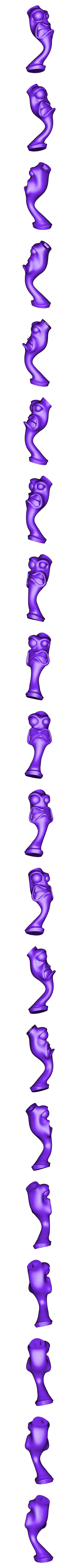 Cabeza PR.OBJ Download free OBJ file Earthworm Jim • 3D printable template, taiced3d