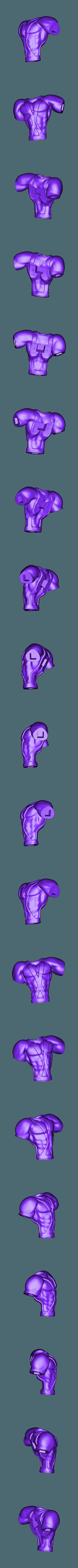 Cuerpo PR2.OBJ Download free OBJ file Earthworm Jim • 3D printable template, taiced3d