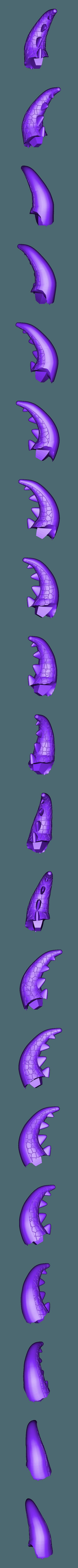 Renekton Chibi 20cm - Tail.stl Télécharger fichier STL gratuit Renekton Chibi - League Of Legends • Objet pour impression 3D, BODY3D