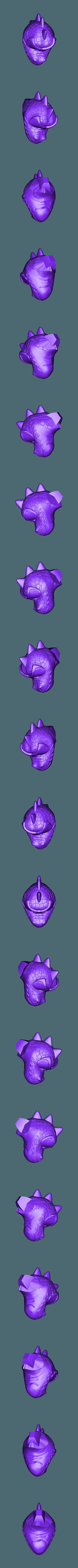 Renekton Chibi 20cm - Head.stl Télécharger fichier STL gratuit Renekton Chibi - League Of Legends • Objet pour impression 3D, BODY3D