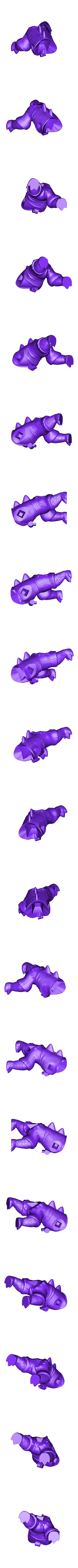 Renekton Chibi 20cm - Body.stl Télécharger fichier STL gratuit Renekton Chibi - League Of Legends • Objet pour impression 3D, BODY3D
