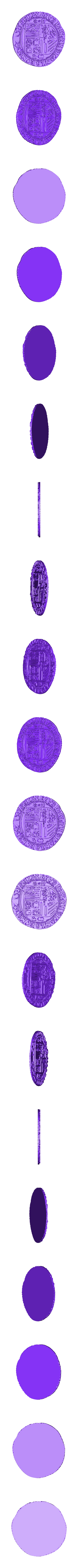 el_dorado_coin_tail_v3.stl Télécharger fichier OBJ gratuit Pièce d'El Dorado[Sans carte] • Objet pour imprimante 3D, Dream_it_Model_it
