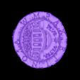el_dorado_coin_heads_v4_obj.obj Télécharger fichier OBJ gratuit Pièce d'El Dorado[Sans carte] • Objet pour imprimante 3D, Dream_it_Model_it