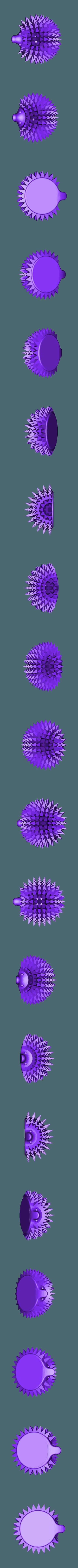 Fantastic Albar.stl Download free STL file Tooth Hedgehog • 3D printable template, timothemarsot