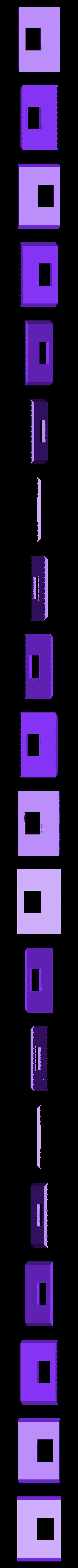 Forward_End_Wall.stl Download free STL file HO Scale Office Trailer • 3D printer design, kabrumble