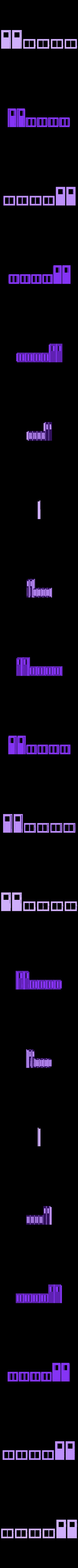 Window_Door_Frames.stl Download free STL file HO Scale Office Trailer • 3D printer design, kabrumble