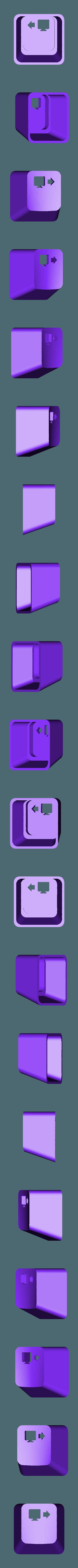 key_SWP.stl Download free STL file Key cap • 3D printing object, MakeItWork