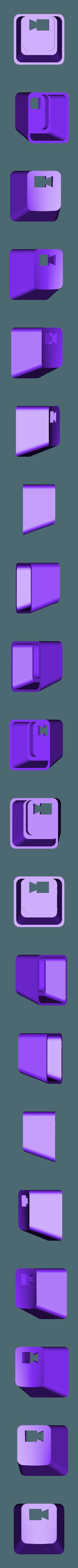 key_rec2.stl Download free STL file Key cap • 3D printing object, MakeItWork
