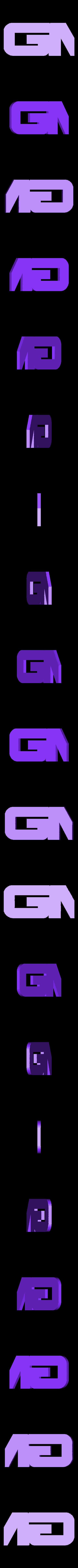 GM.stl Download free STL file GMC logo • 3D print model, MakeItWork