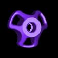 Knob-Nut-M8-Flat.STL Télécharger fichier STL gratuit Support de bobine • Design pour imprimante 3D, perinski