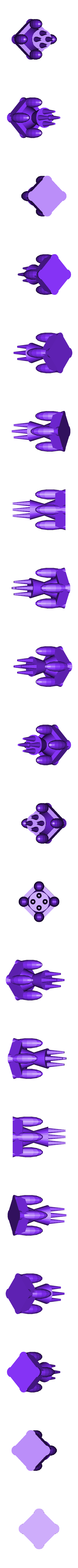 egg_hourglass_castle.stl Download free SCAD file Openscad Tutorial - Random Egg Hourglass Structure • 3D print object, Urukog
