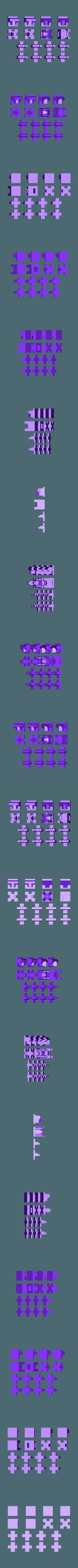 CChessShV9c.stl Télécharger fichier STL gratuit Feuille solo pour le jeu d'échecs du château d'Emphes • Modèle pour impression 3D, Urukog