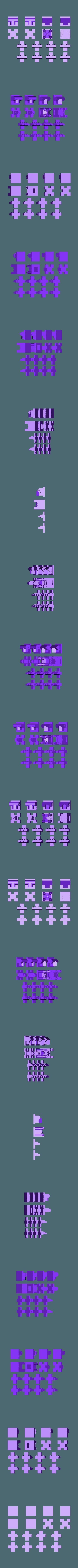 CCS9F.stl Télécharger fichier STL gratuit Feuille solo pour le jeu d'échecs du château d'Emphes • Modèle pour impression 3D, Urukog