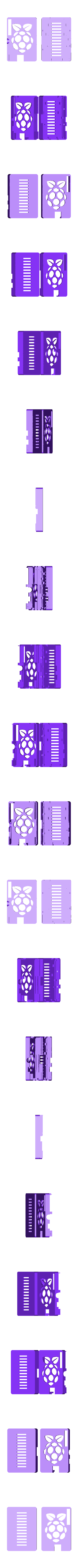 RaspberryPi_v15.stl Download free SCAD file Raspberry Pi case • 3D print object, Urukog