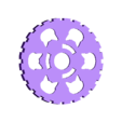 Gears_Knob.stl Download free SCAD file Cat gears key chain. • 3D printer object, Urukog