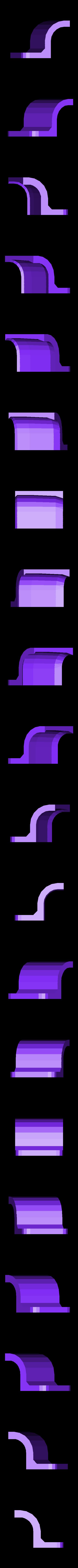 xtion_bracket_left.stl Télécharger fichier STL gratuit Support Asus Xtion pour TurtleBot • Design imprimable en 3D, Obenottr3D