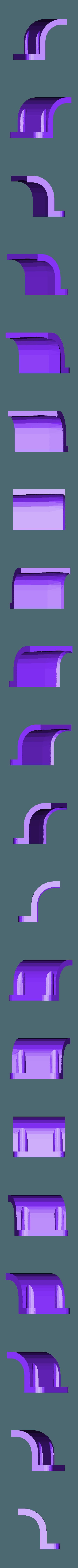 xtion_bracket_right.stl Télécharger fichier STL gratuit Support Asus Xtion pour TurtleBot • Design imprimable en 3D, Obenottr3D